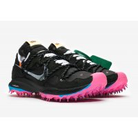Chaussures Baskets basses Nike Zoom Terra Kiger 5 x Off White Black Black/Metallic Silver-White-Pink Blast