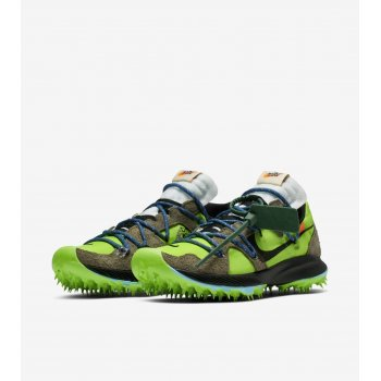 Chaussures Baskets basses Nike Zoom Terra Kiger 5 x Off White Electric Green Electric Green/Metallic Silver-Sail