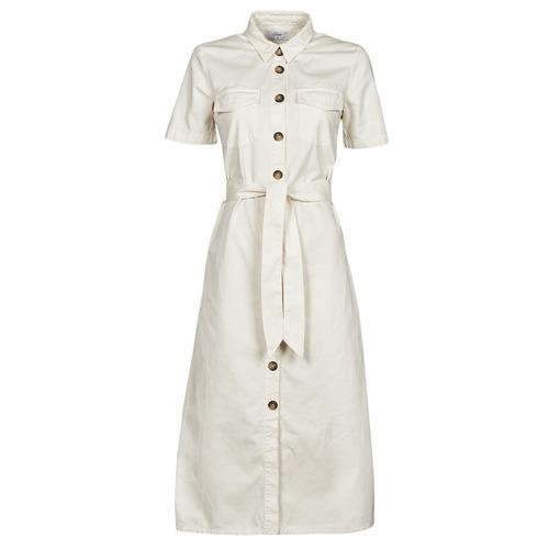 Vêtements Femme Robes longues Betty London ODRESS Ecru