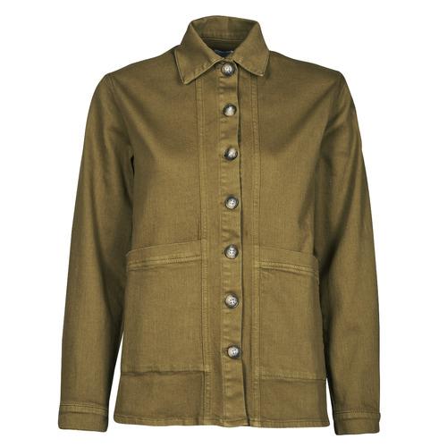 Vêtements Femme Vestes en jean Betty London OVEST Kaki