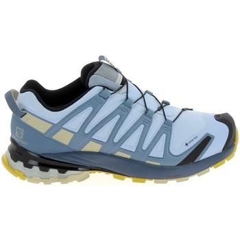 Chaussures Randonnée Salomon XA Pro GTX Bleu Ciel Bleu