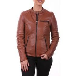 Vêtements Femme Blousons Ladc Irina Cognac Gris