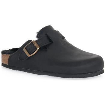 Chaussures Femme Sabots Bioline GUM NERO Nero