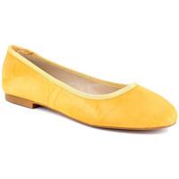 Chaussures Femme Ballerines / babies Loca Lova MIA Moutarde Jaune