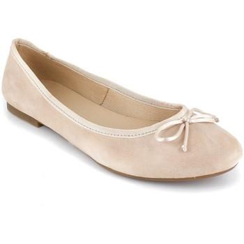 Chaussures Femme Ballerines / babies Loca Lova MIA beige Beige