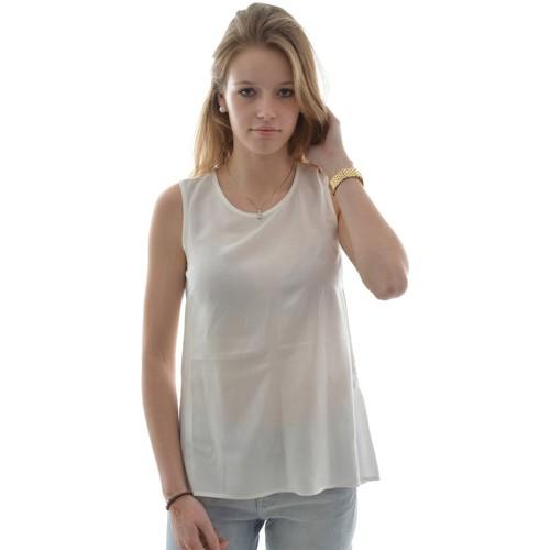 Vêtements Femme Débardeurs / T-shirts sans manche Street One hauke round neck top blanc