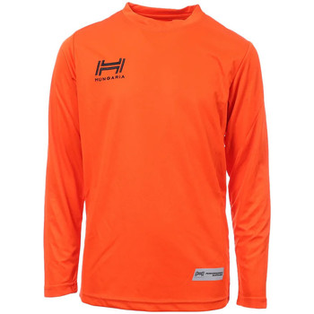 Vêtements Homme T-shirts manches longues Hungaria H-15TMJUCA00 Orange