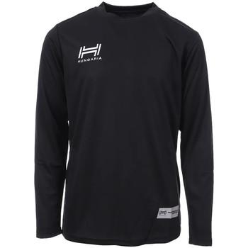 Vêtements Homme T-shirts manches longues Hungaria H-15TMJUCA00 Noir
