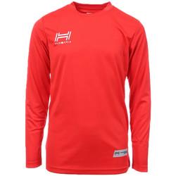 Vêtements Homme T-shirts manches longues Hungaria H-15TMJUCA00 Rouge