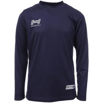 Vêtements Homme T-shirts manches longues Hungaria H-15TMJUCA00 Bleu