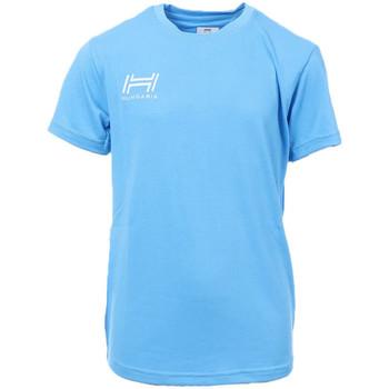 Vêtements Homme T-shirts manches courtes Hungaria H-15TOJYB000 Bleu