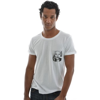 T-shirts manches courtes Eleven Paris tee shirt  kmpock men blanc