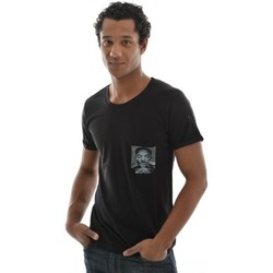 T-shirts manches courtes Eleven Paris tee shirt  wolypock men noir