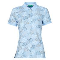 Vêtements Femme Polos manches courtes Benetton PLOHO Bleu