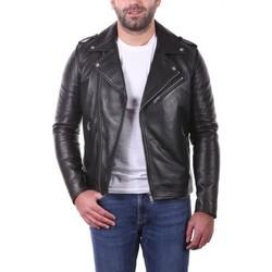 Vêtements Vestes en cuir / synthétiques Ladc Jagger Crunch Noir Noir