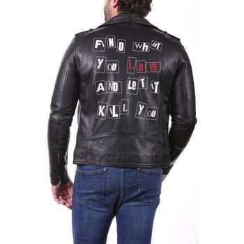Vêtements Vestes en cuir / synthétiques Ladc Jagger Find Noir Noir