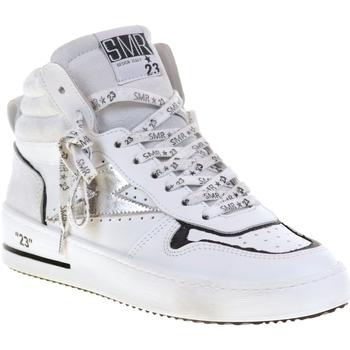 Chaussures Femme Baskets montantes Semerdjian QUITO 5187 Blanc