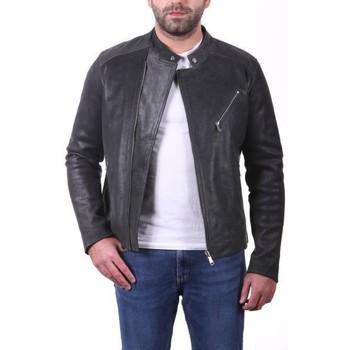 Vêtements Vestes en cuir / synthétiques Ladc Jason Mystic Noir Noir