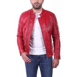 Vêtements Homme Vestes en cuir / synthétiques Ladc Jason Rouge Rouge
