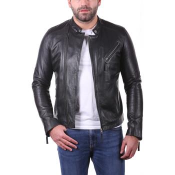Vêtements Homme Vestes en cuir / synthétiques Ladc Jason Loup Noir Noir