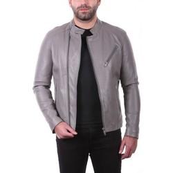 Vêtements Vestes en cuir / synthétiques Ladc Jason Gris Gris