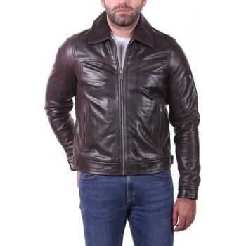 Vêtements Homme Vestes en cuir / synthétiques Ladc Sasha Marron Marron