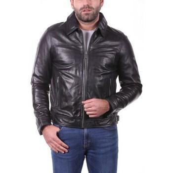 Vêtements Vestes en cuir / synthétiques Ladc Sasha Noir Noir