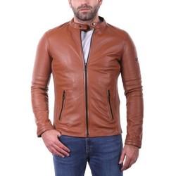 Vêtements Homme Vestes en cuir / synthétiques Ladc Bradley Cognac Cognac