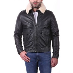 Vêtements Vestes en cuir / synthétiques Ladc Farell Noir Noir