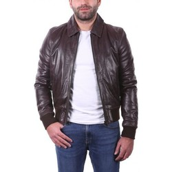 Vêtements Vestes en cuir / synthétiques Ladc Gary Marron Marron