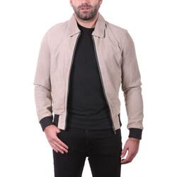 Vêtements Homme Vestes en cuir / synthétiques Ladc Gary Velours Sable Sable