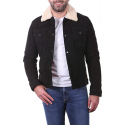 Vêtements Homme Vestes / Blazers Ladc Shai Velours Noir Noir