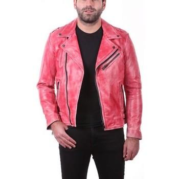 Vêtements Vestes en cuir / synthétiques Ladc Trocadéro Rouge Rouge