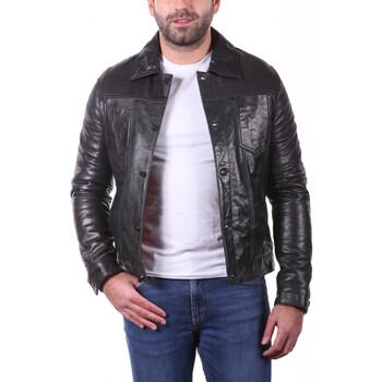 Vêtements Vestes en cuir / synthétiques Ladc Lenny Tete Noir Noir