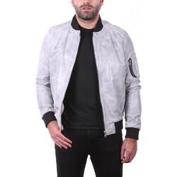 Vêtements Vestes en cuir / synthétiques Ladc Didier Gris Gris