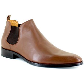 Chaussures Homme Boots J.bradford JB-DANET COGNAC Marron