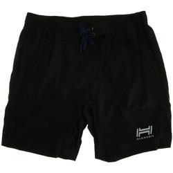 Vêtements Garçon Shorts / Bermudas Hungaria H-15BPUXK000 Noir