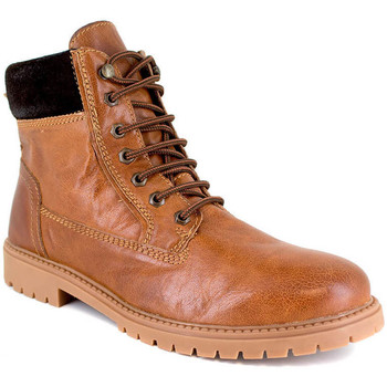 Chaussures Homme Boots J.bradford JB-EAST COGNAC Marron