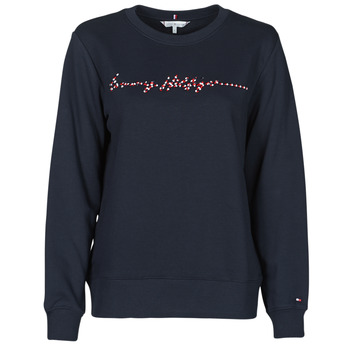 Vêtements Femme Sweats Tommy Hilfiger ANNIE RELAXED C-NK SWEATSHIRT LS Bleu