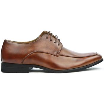 Chaussures Derbies Uomo Design Derby Homme Henry cognac