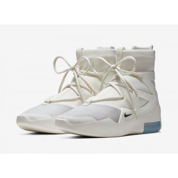 Chaussures Baskets montantes Nike Air Fear Of God 1 Sail Sail/Black