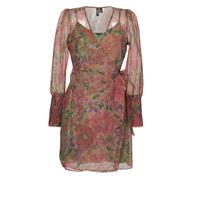 Vêtements Femme Robes courtes Vero Moda VMABELIA Vert / Rouge