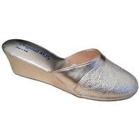 Chaussures Femme Chaussons Original Milly PANTOUFLE DE CHAMBRE MILLY - 4000 ARGENT Argenté