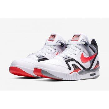 Chaussures Baskets montantes Nike Air Tech Challenge 2 Hot Lava White/Hot Lava-Black Silver