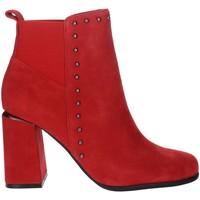 Chaussures Femme Bottines Pregunta PFC9481 Rouge