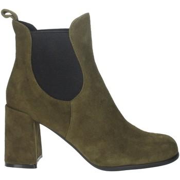 Chaussures Femme Bottines Pregunta PFC9170 Vert foncé
