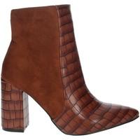 Chaussures Femme Bottines Pregunta PFC9144-MC Marron cuir