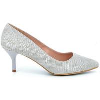 Chaussures Femme Escarpins Giulia g.5. pitone Gris
