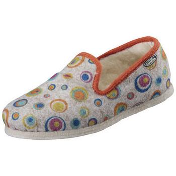 Chaussures Femme Mules Semelflex lily-nat Blanc