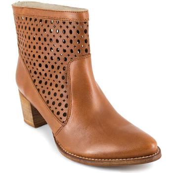 Chaussures Femme Bottines J.bradford JB-SOFIA CAMEL Marron